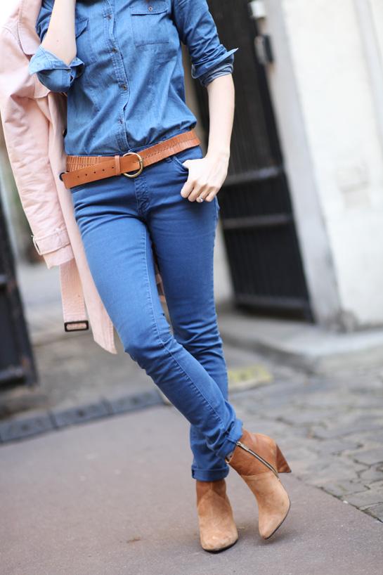 pantalon slim femme 2012