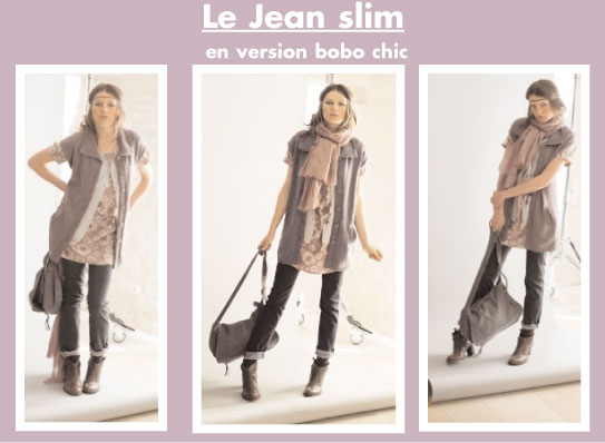 Jean slim en version bobo chic somewhere le blog - Style bobo chic femme ...